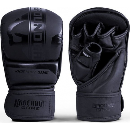 Tréninkové MMA rukavice Ground Game STRIPE BLACK