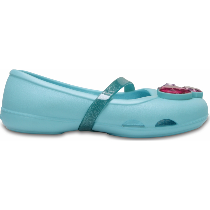 Crocs Lina Flat K - Ice Blue