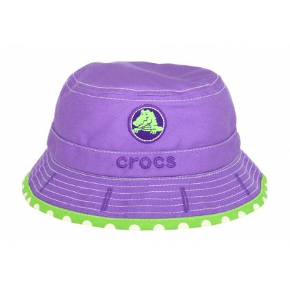 Crocs Girls Reversible Bucket - Purple