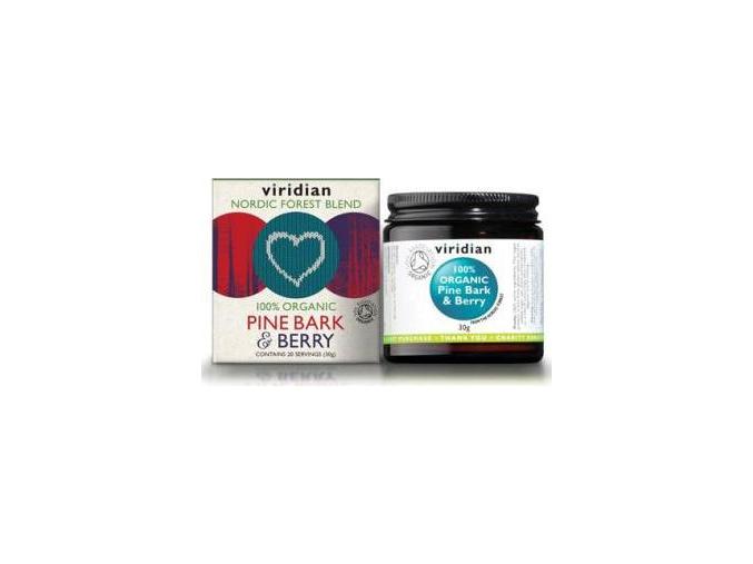 VIRIDIAN nutrition Organic Pine Bark & Berry 30 g