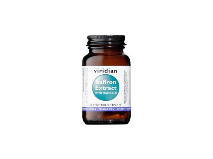 VIRIDIAN nutrition Saffron Extract 30 kapslí