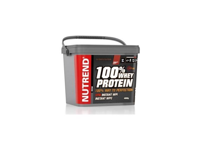 Nutrend 100% Whey Protein 4000g
