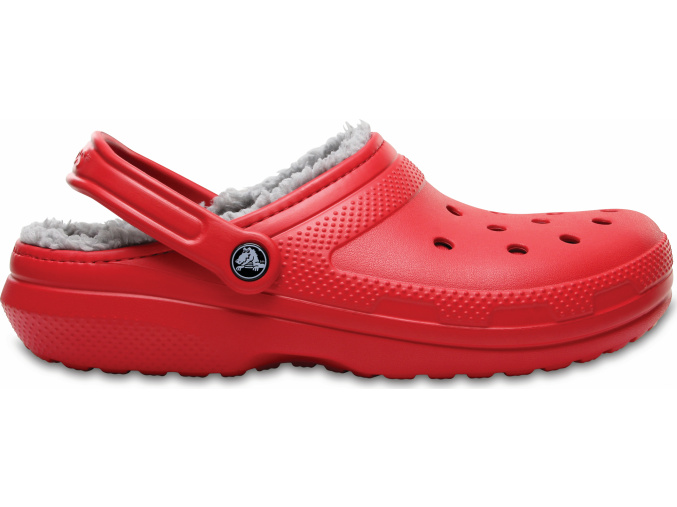 Crocs Classic Lined Clog Pepper/Silver