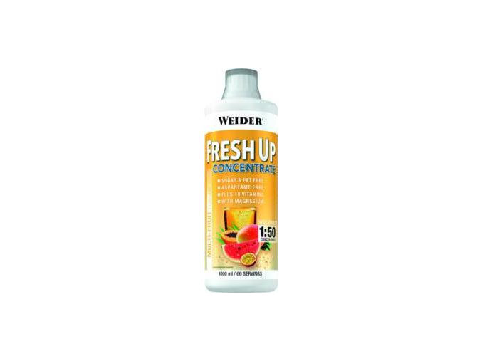 Weider Fresh Up Concentrate 1000ml.