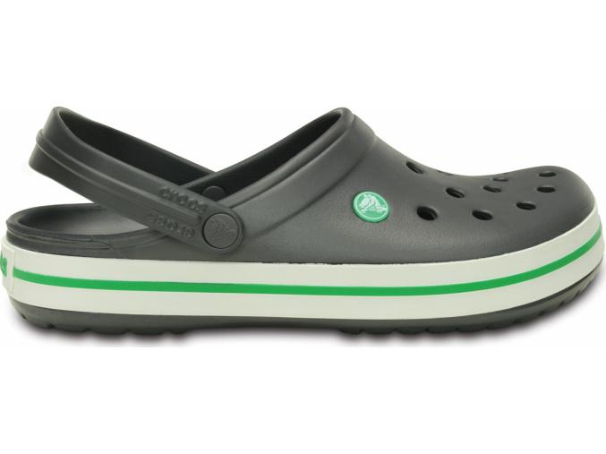 Crocs Crocband Graphite/Grass Green