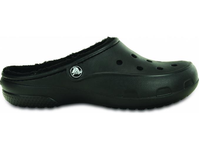 Crocs Freesail Lined Clog - Black/Black