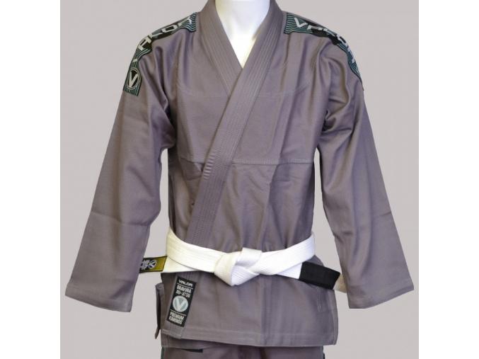 bjj gi kimono valor bravura grey sede f7