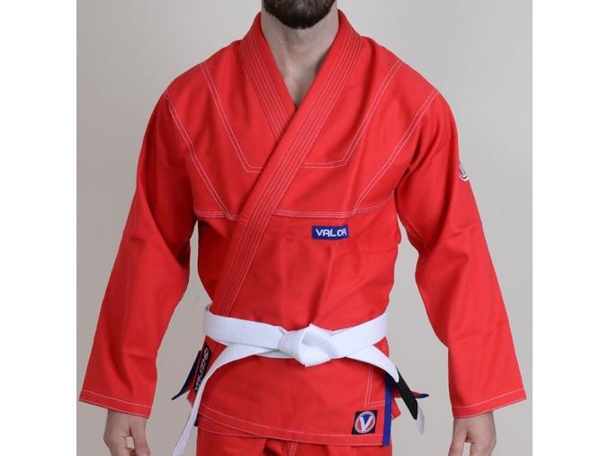 bjj gi kimono valor prime v2 premium cervena f1