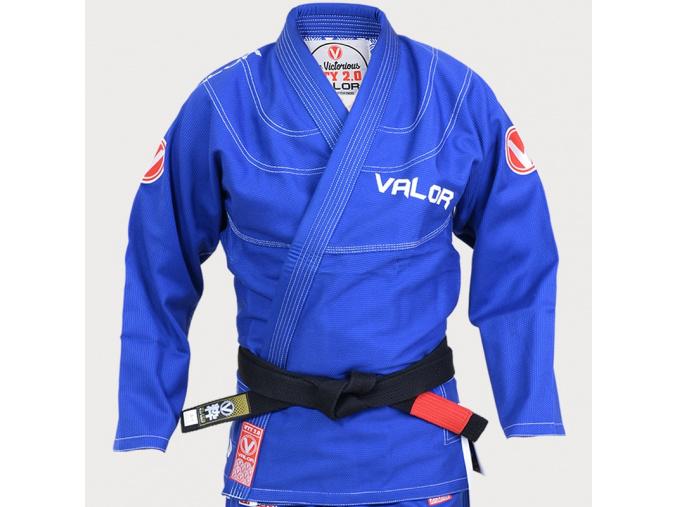 bjj kimono gi valor victory 2 modre f1