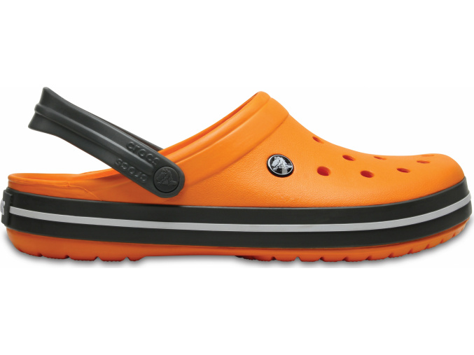 Crocs Crocband - Blazing Orange/Slate Grey