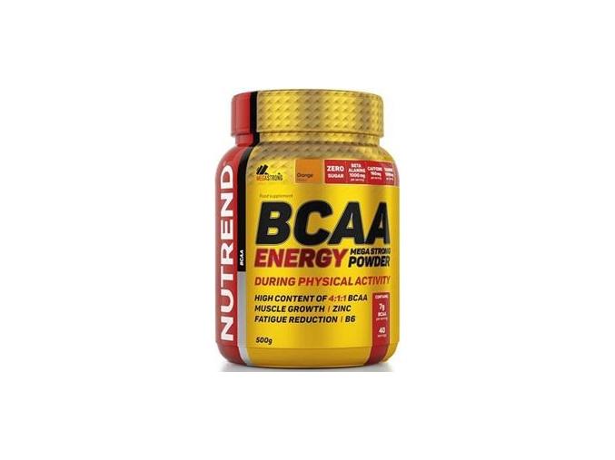 Nutrend BCAA Energy Mega Strong Powder 500g