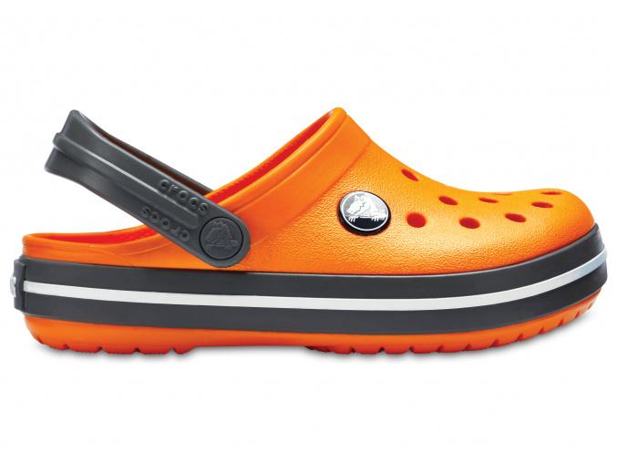 Crocs Crocband Clog K Blazing Orange/Slate Grey