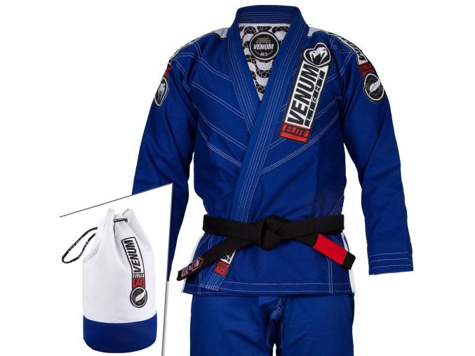 kimono venum bjj gi elite light 2.0 modre fitexpert f1