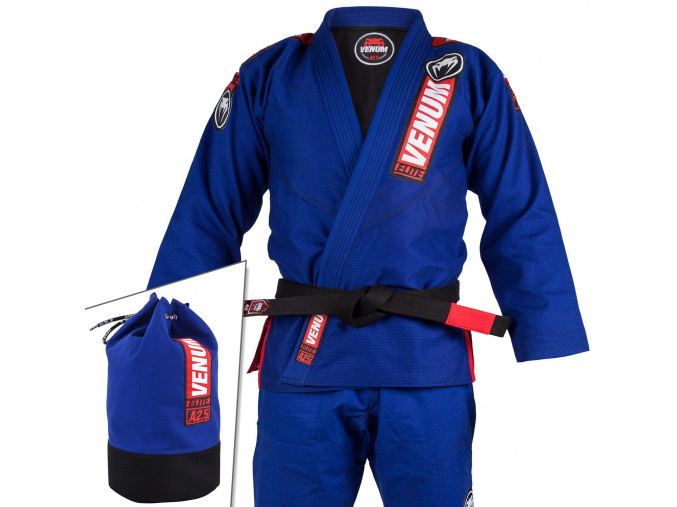kimono venum bjj gi elite 2.0 modre fitexpert f1