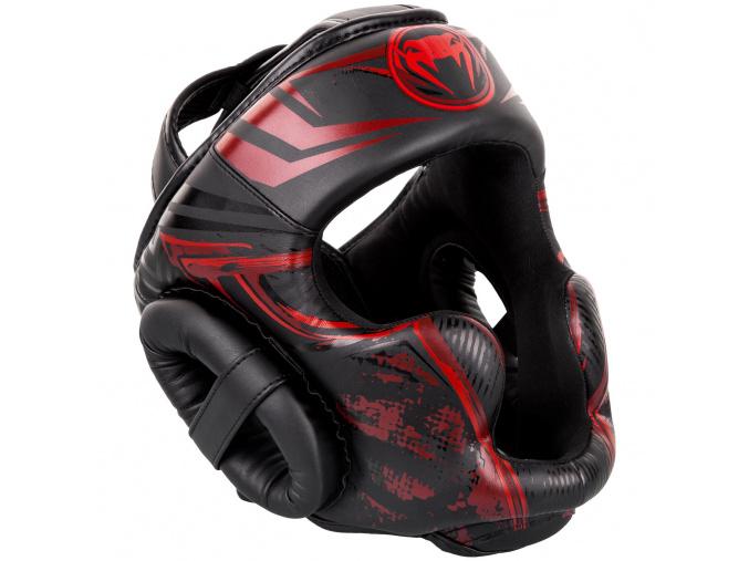 chranic hlavy venum headguard gladiator black red fightexpert f1