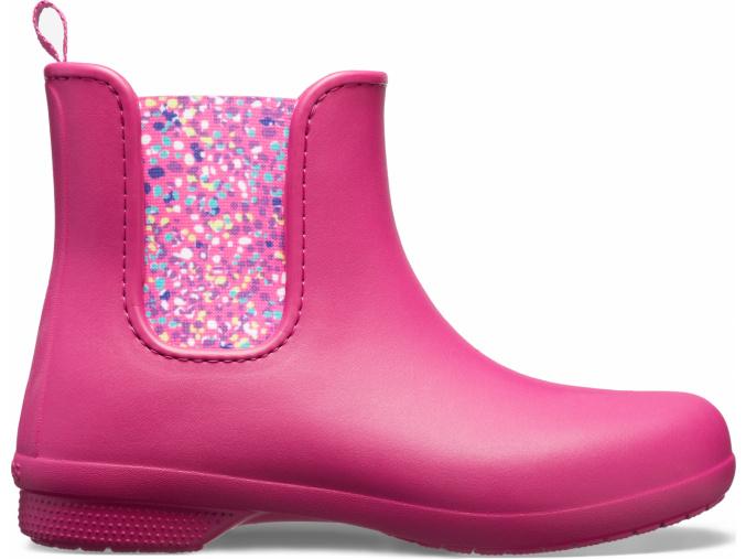 Crocs Freesail Chelsea Boot W Berry/Dots
