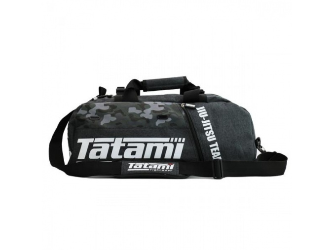 side on grey and camo gear bag grande