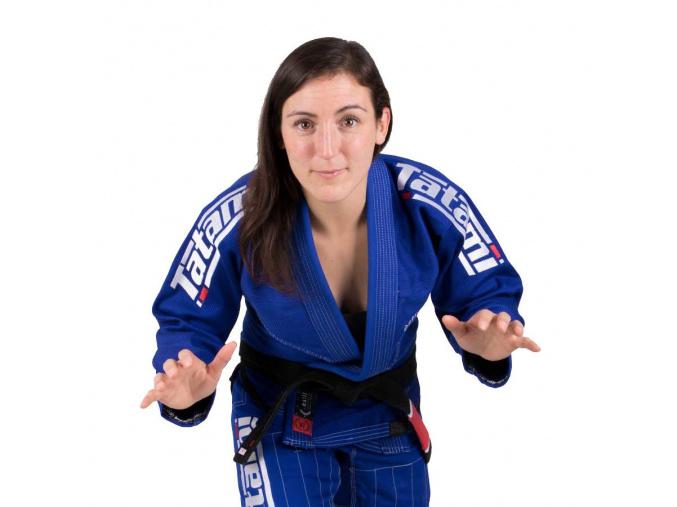 Dámské BJJ kimono Tatami Estilo 6.0 gi Ladies - BLUE & WHITE  + ZDARMA zápasnická tejpa na prsty v hodnotě 99 Kč
