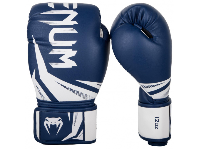 boxing gloves venum rukavice challenger 3.0 navy white f1