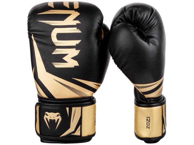boxing gloves venum rukavice challenger 3.0 black gold f0