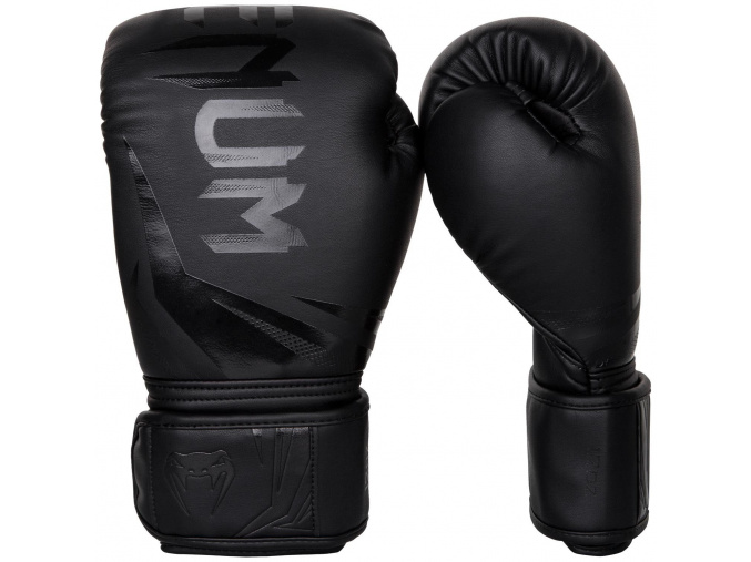 boxing gloves venum rukavice challenger 3.0 black black f1