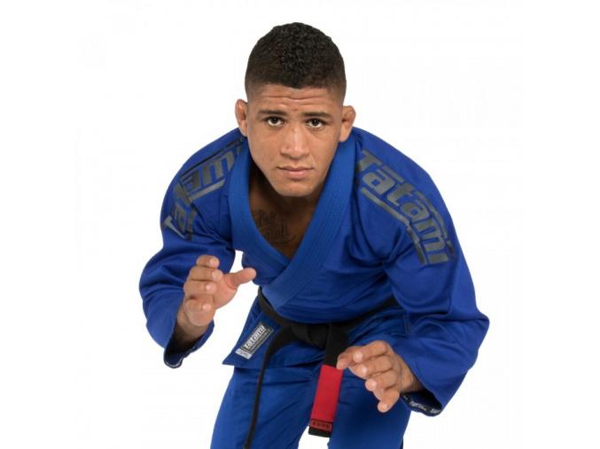 bjj kimono gi tatami fightwear srs 2 blue f1