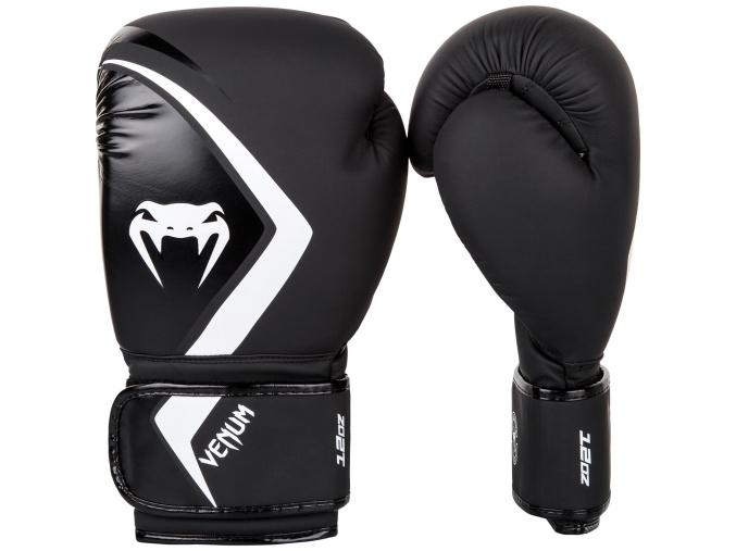 boxing gloves box rukavice venum contender 2 black white f1