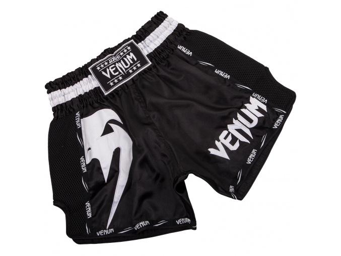 short venum muay giant black white f1
