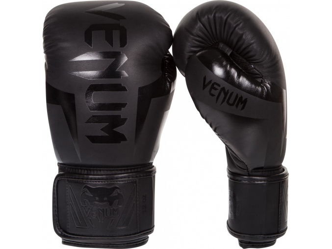 boxing gloves venum box elite neo matte black f1