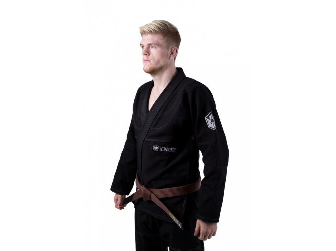 bjj kimono gi kingz balistico 2.0 cerne f2