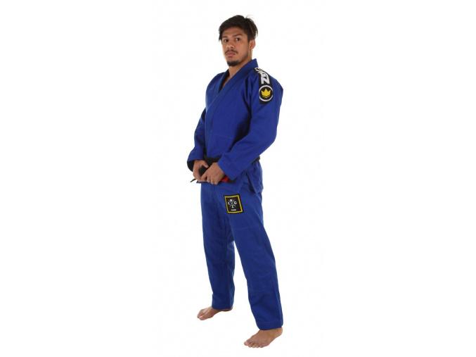 bjj kimono gi kingz basic 2.0 modre f1