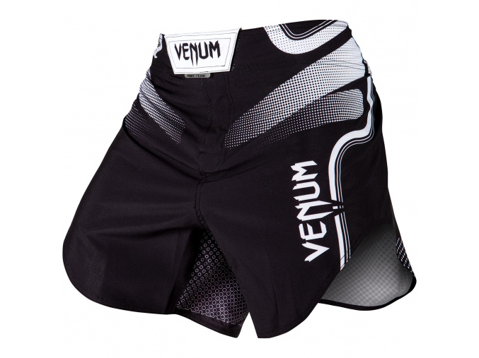 fightshorts venum court black white f1