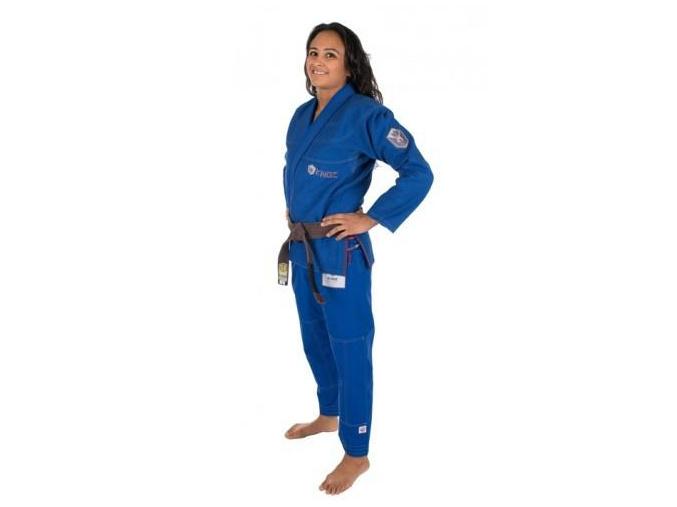 bjj kimono gi kingz balistico 2.0 woman modre f1