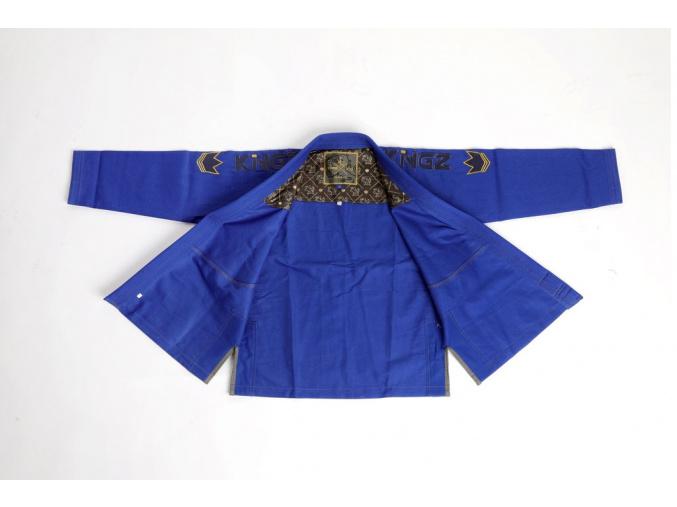 damske bjj kimono kingz comp v5 modre f1