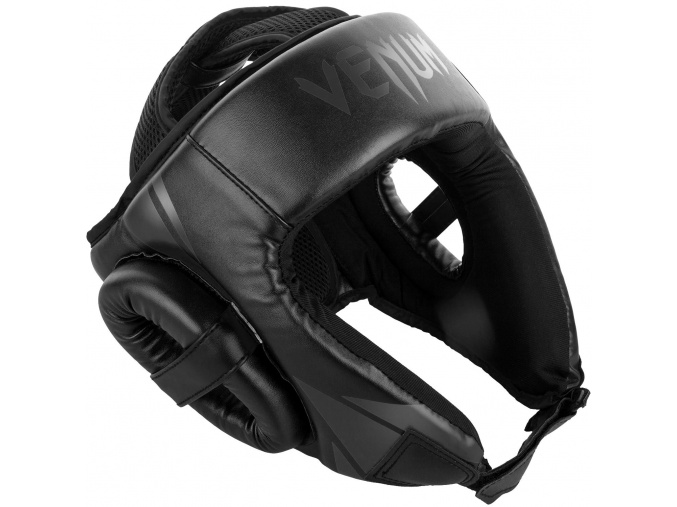 headgear venum box openface challenger black black f1