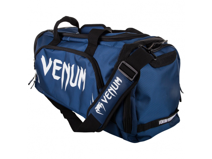 sport bag venum trainerlite bluenavy white f1