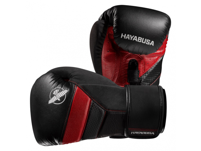 boxerske rukavice hayabusa t3 cervene f1