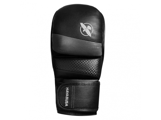 hybrid rukavice hayabusa t3 7oz cerne sede f1
