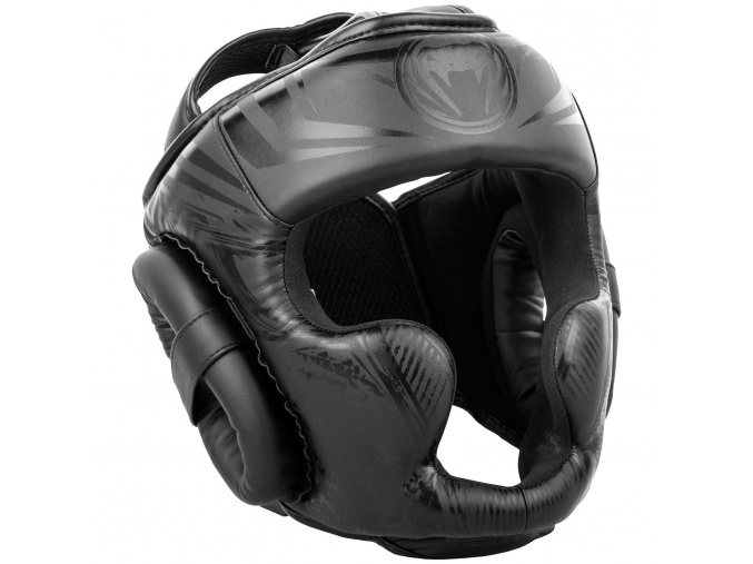 headgear venum box gladiator black black f1