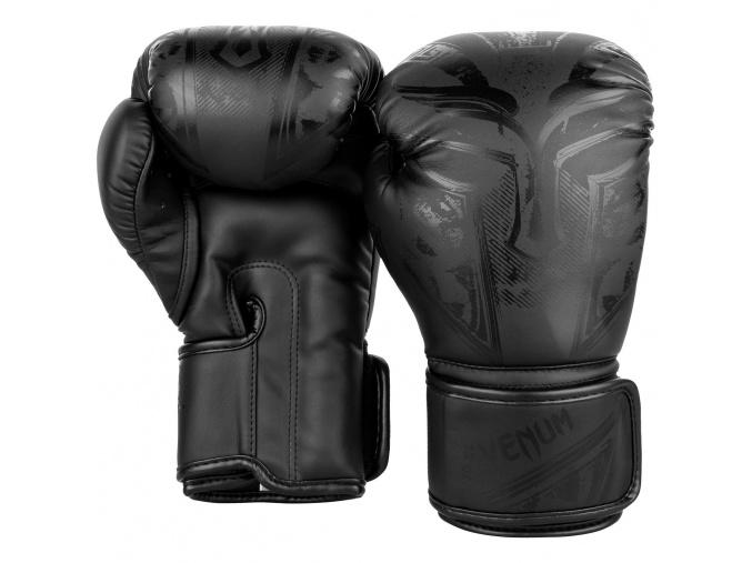 boxing gloves venum gladiator black black f2