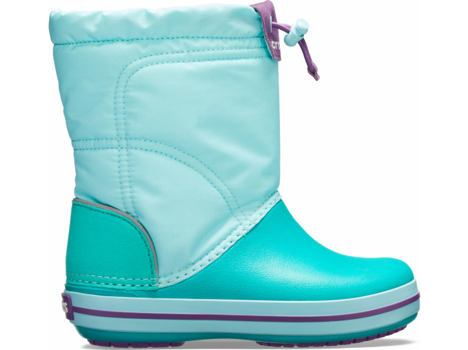 Crocs Crocband LodgePoint Boot K Ice Blue/Tropical Teal