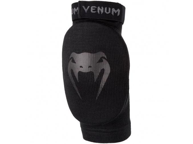 elbow pads venum kontact black black f1