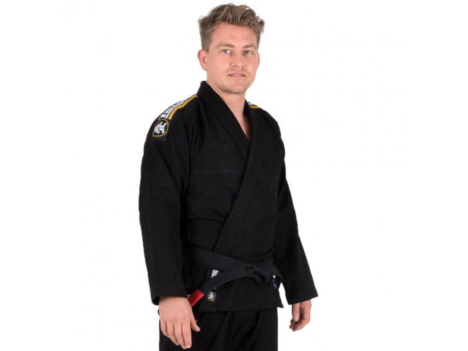 bjj gi kimono tatami absolute black f1