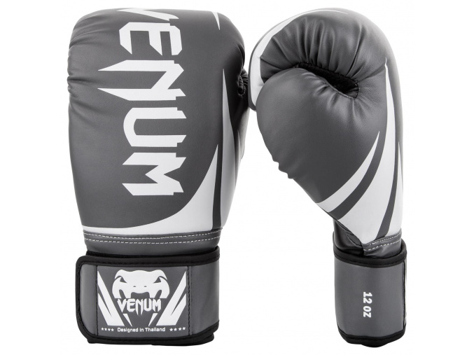 boxing gloves box venum challenger grey f1