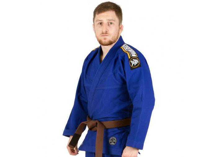 gi bjj kimono tatami absolute blue f1