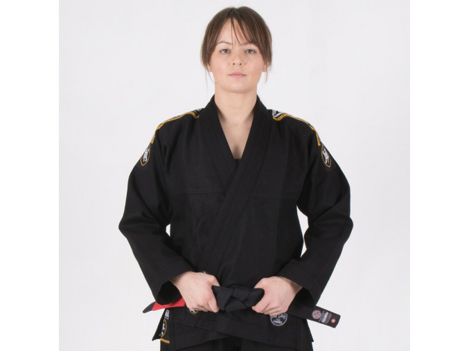 nova absolute ladies black bjj gi f1