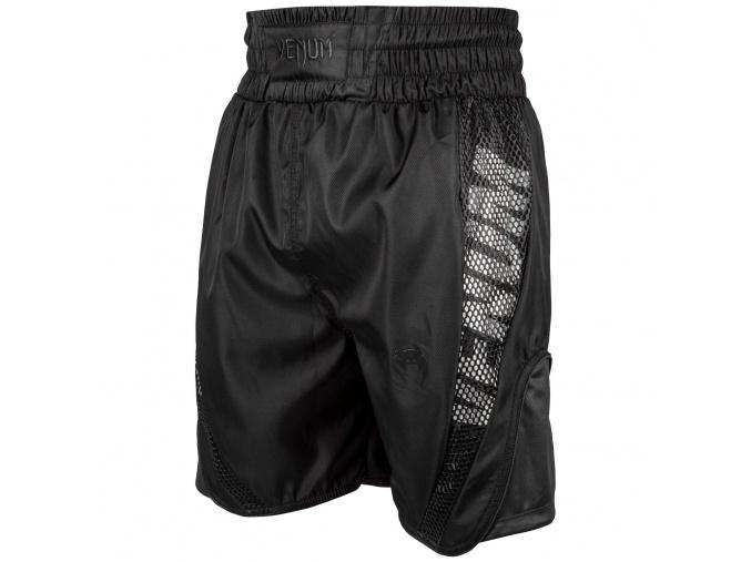 fightshorts mma venum boxing short elite black f1
