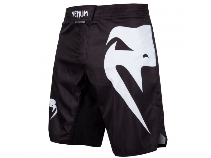 mma shorts venum light 3 black f1