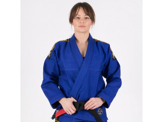ladies bjj gi brazilian jiu jitsu blue f1