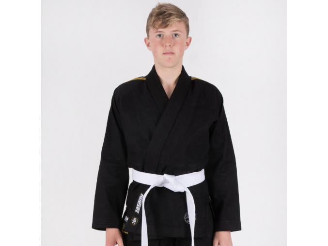bjj jiu jitsu kids tatami nova absolute black f1